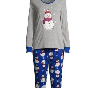 NWT 2X snowman plus ladies pajamas xmas hanukkah